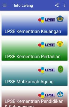 Info Lelang screenshot 2