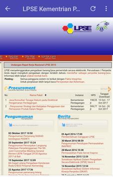 Info Lelang screenshot 4