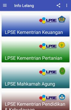 Info Lelang screenshot 8