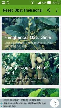 Ramuan Resep Obat Herbal Tradisional Lengkap screenshot 3