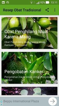 Ramuan Resep Obat Herbal Tradisional Lengkap screenshot 2