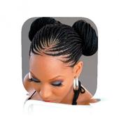 Hairstyles Afro Women icon