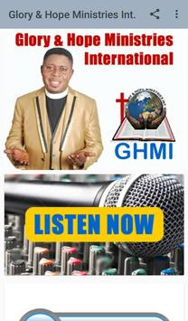 Glory & Hope Ministries International screenshot 1