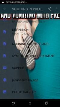 VOMITING IN PREGNANCY apk screenshot
