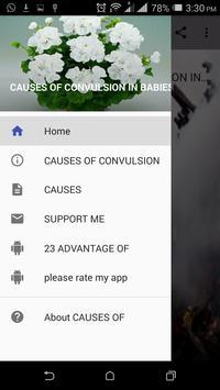CAUSES OF CONVULSION IN BABIES apk screenshot