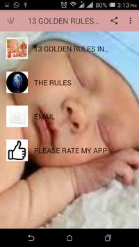 Weaning And Its Rules apk screenshot