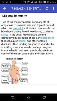 Nutritional And Health Benefits apk screenshot