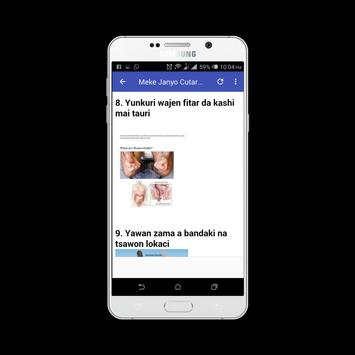 Cutar Basir A likitance screenshot 2