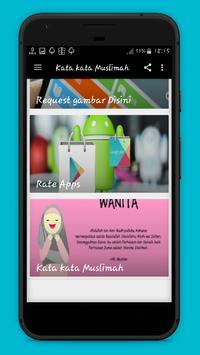 Kata Kata Muslimah screenshot 1