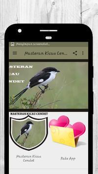 Master Kicau Cendet HD screenshot 1