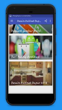 Desain Kabinet Dapur 2018 screenshot 1
