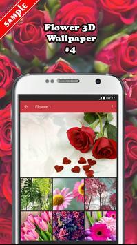 Flower 3D Wallpaper screenshot 3