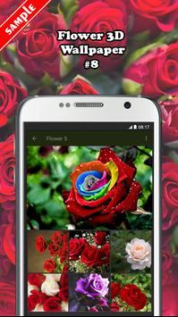 Flower 3D Wallpaper screenshot 7