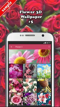 Flower 3D Wallpaper screenshot 4