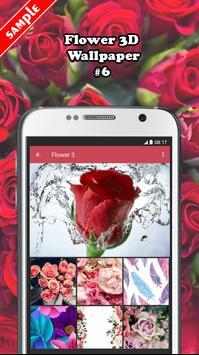 Flower 3D Wallpaper screenshot 5