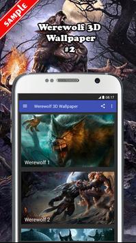 Werewolf 3D Wallpaper screenshot 1