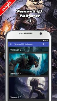 Werewolf 3D Wallpaper screenshot 2
