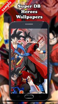 Super DB Heroes Wallpapers screenshot 1