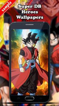 Super DB Heroes Wallpapers screenshot 2