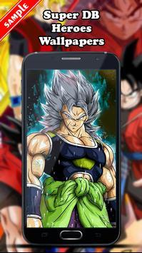 Super DB Heroes Wallpapers screenshot 4