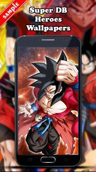 Super DB Heroes Wallpapers screenshot 6