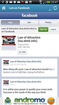 Law of Attraction - Daily Info screenshot 3