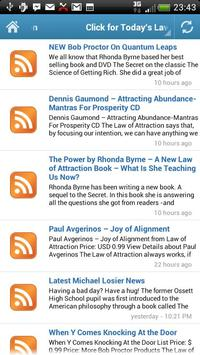 Law of Attraction - Daily Info screenshot 1