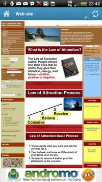 Law of Attraction - Daily Info screenshot 2
