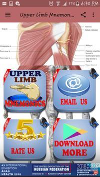 Upper Limb Mnemonics screenshot 3