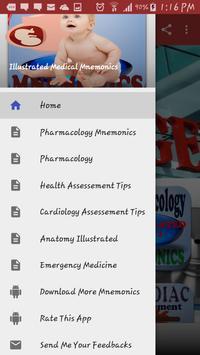 Illustrated Medical Mnemonics poster