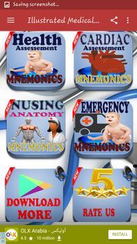 Illustrated Medical Mnemonics screenshot 7