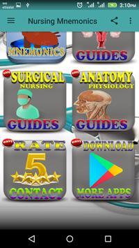 Nursing Mnemonics screenshot 1