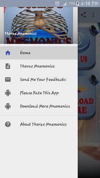 Thorax Medical Mnemonics screenshot 11