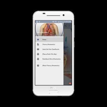 Thorax Medical Mnemonics screenshot 8