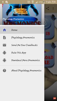Physiology Mnemonics screenshot 3