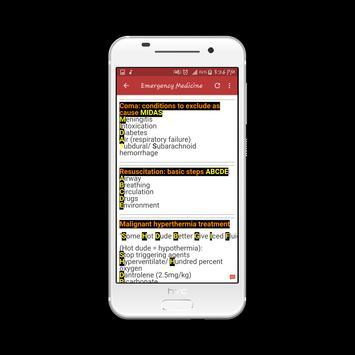Emergency Medicine Mnemonics screenshot 14