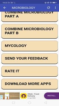 Microbiology Mnemonics screenshot 3