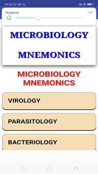 Microbiology Mnemonics screenshot 1