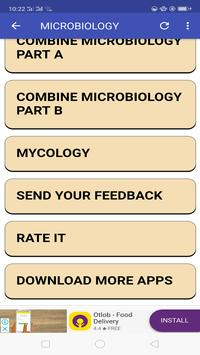 Microbiology Mnemonics screenshot 7