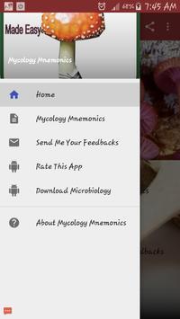 Mycology Mnemonics poster