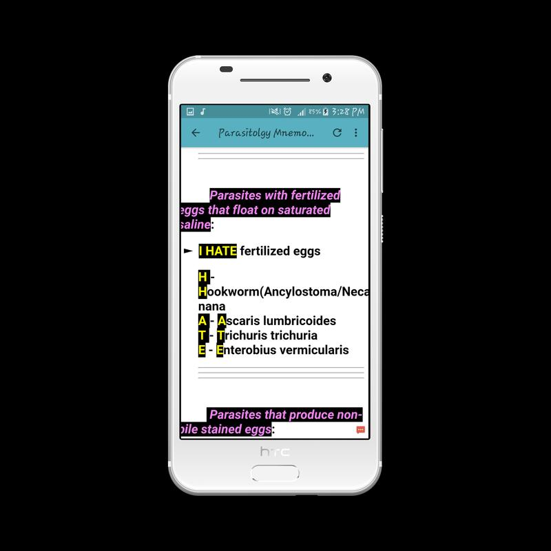 Parasitology Mnemonics for Android - APK Download
