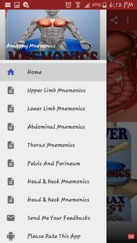 Anatomy Mnemonics screenshot 3