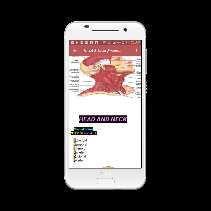 Anatomy Mnemonics for Android - APK Download