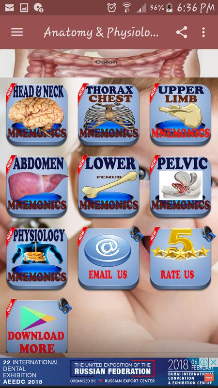 Anatomy & Physiology Mnemonics for Android - APK Download