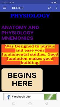 Anatomy & Physiology Mnemonics screenshot 6