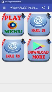 Wakar Raddi Ga Dariqa MP3 screenshot 1