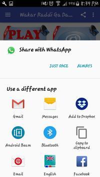 Wakar Raddi Ga Dariqa MP3 screenshot 2