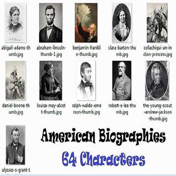 American Biographies poster