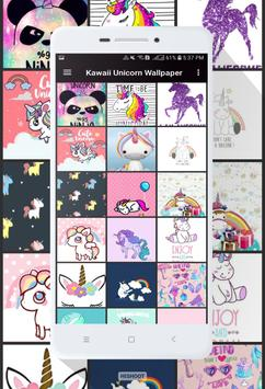 Kawaii Unicorn Wallpaper Screenshot 3