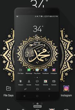 Kaligrafi Wallpaper poster